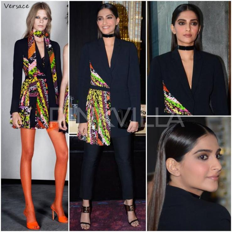 Sonam Kapoor Versace